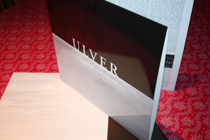 ULVER THEMES FROM WILLIAM BLAKE'S THE MARRIAGE OF HEAVEN & HELL DOUBLE LP EDITION 2012